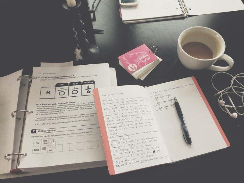 Cách tự học tiếng Hàn tại Nhà