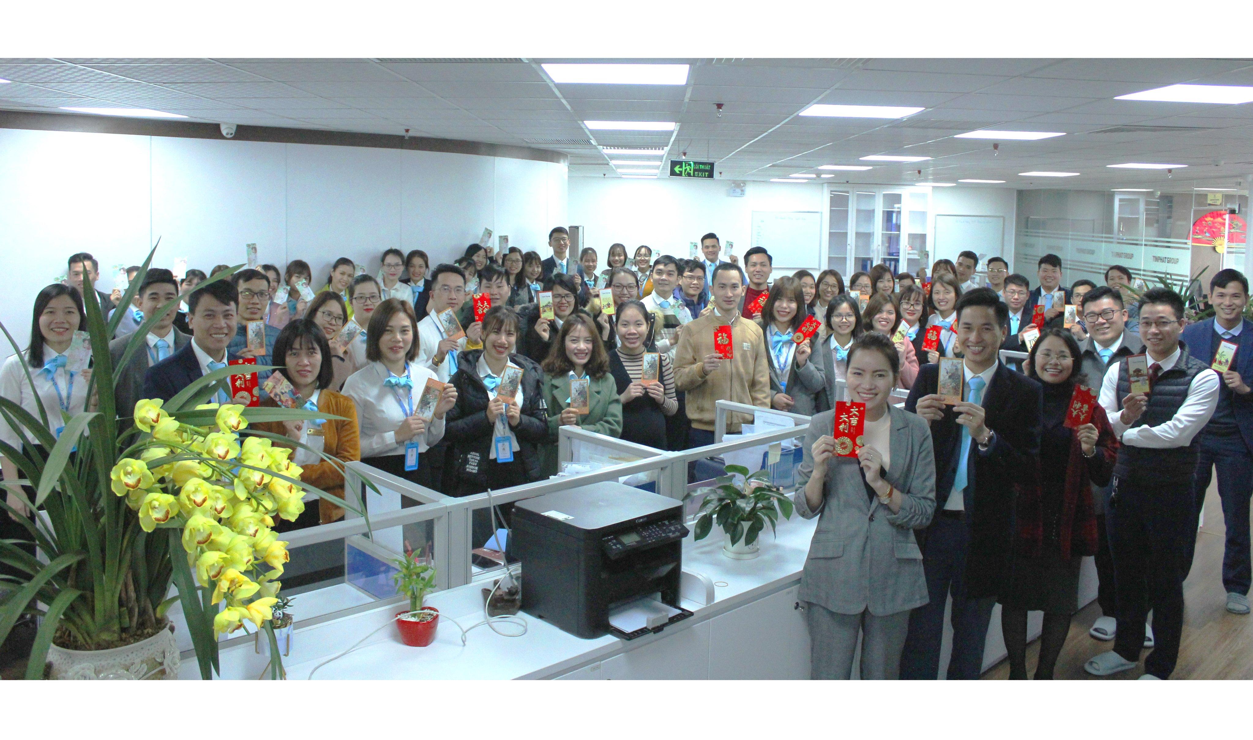 Tập đoàn Tín Phát tổ chức khai xuân đầu năm 2020