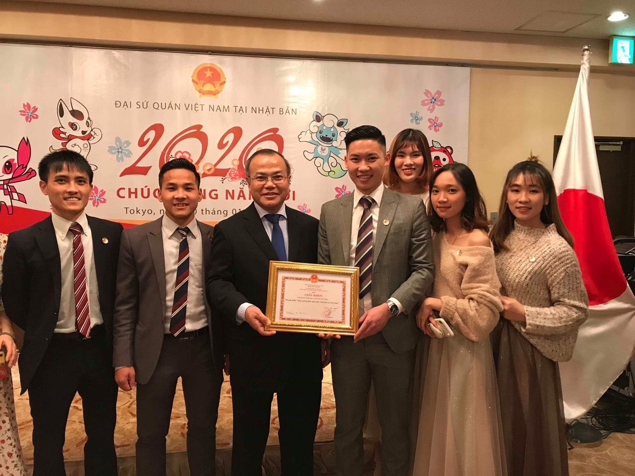 Tín Phát Group nhận bằng khen của Đại sứ quán Việt Nam tại Nhật Bản