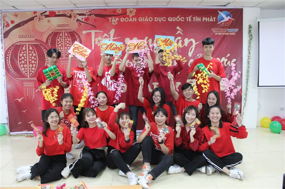 Tất niên 2019 của học sinh Tín Phát Hà Nội