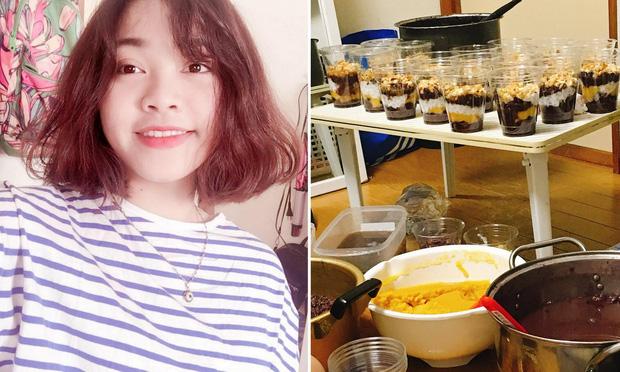 Cô gái du học sinh Việt bán hơn 150 suất chè mỗi ngày và kết quả học tập đáng nể
