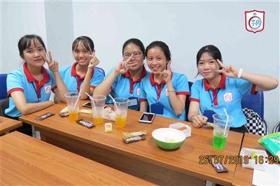 Sinh nhật tháng 7 của học viên Tín Phát Hồ Chí Minh